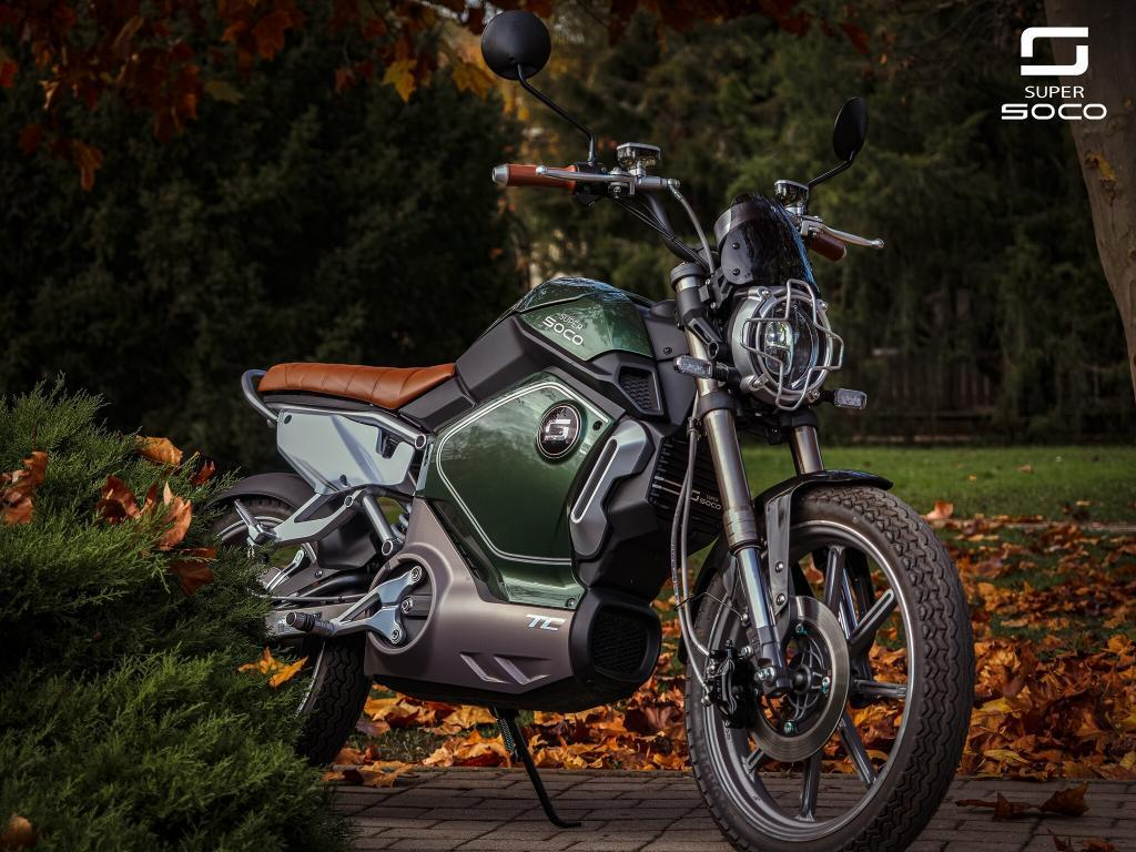 Popust na Super SOCO motocikle, mopede i skutere