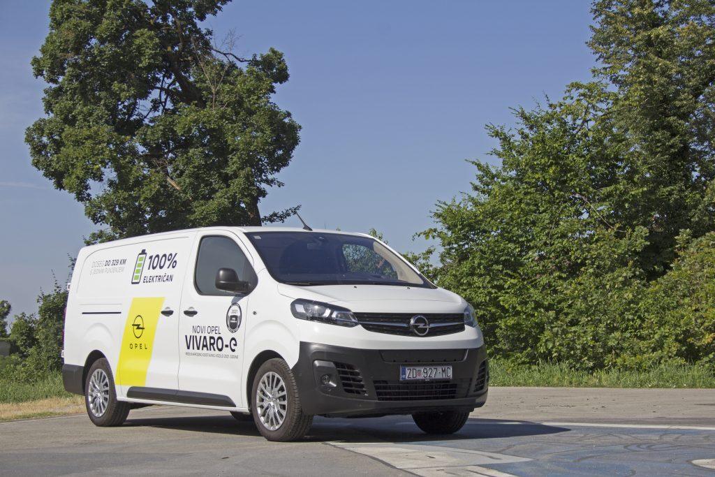 5 dana s Opelom Vivaro-e