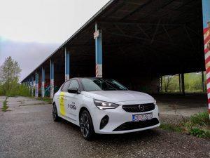 Kratki test s Opel Corsom-e